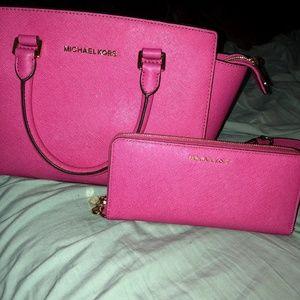 Handbags - Michael Kors bag and matching wallet ee2a44001de